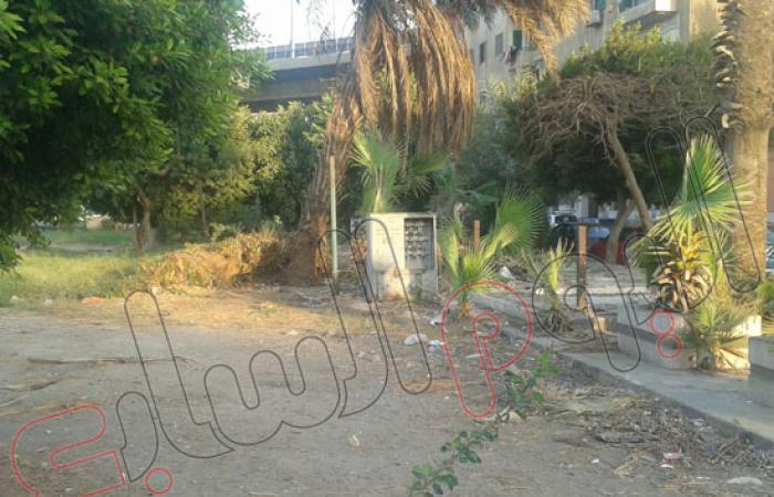 بالصور.. حدائق القبة تتحول من سكن للباشاوات إلى مقلب للقمامة