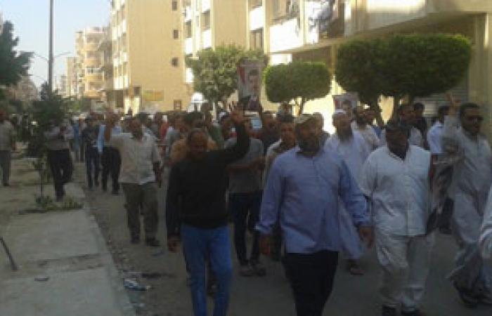 انضمام مسيرة ثالثة للإخوان من منطقة الكونيسة متجهين إلى شارع فيصل