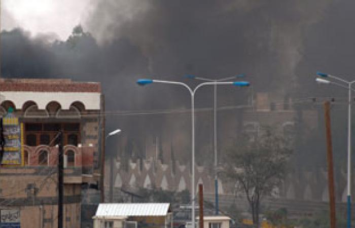 انفجار عنيف يهز منطقة مذبح شمال غرب صنعاء