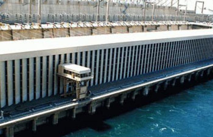 ارتفاع منسوب مياه النيل أمام السد العالى 4 سنتيمترات