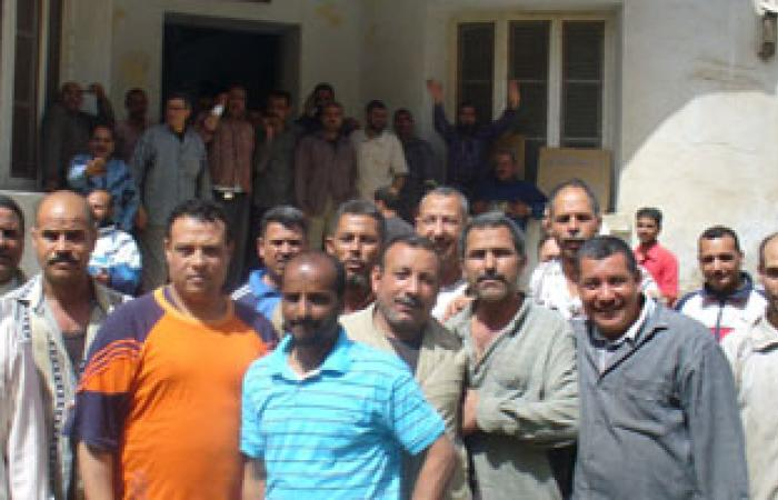 إضراب عمال مصنع للغازات الصناعية بالمنوفية
