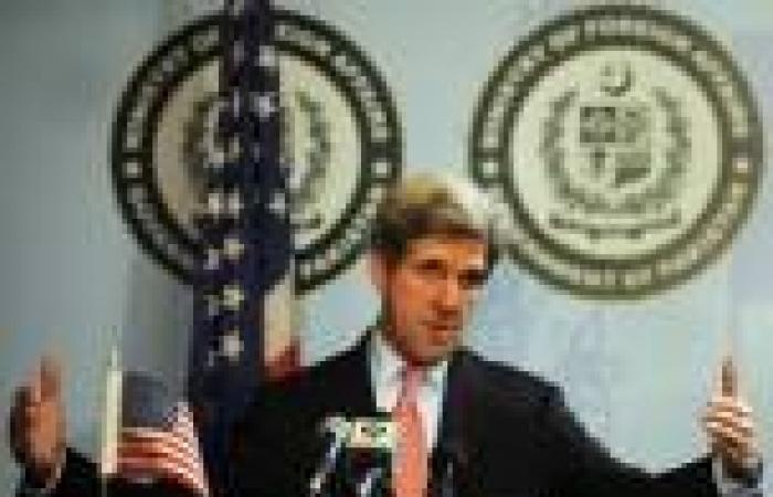 «كيري»: كنا قريبين من التوصل لاتفاق مع إيران حول برنامجها النووي في جنيف