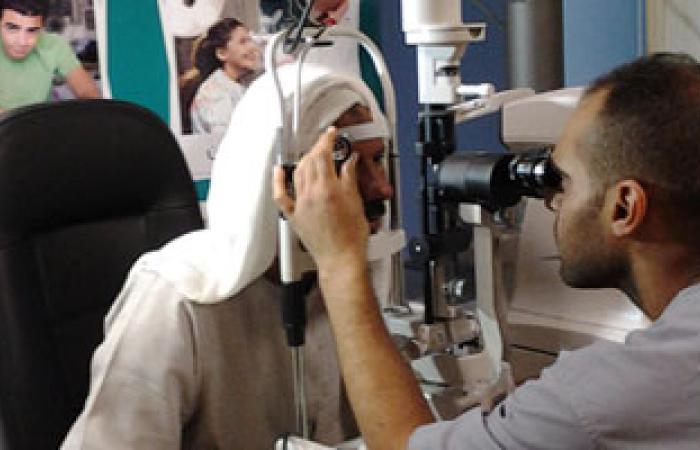 """""""أبصار"""" تكافح العمى وتفتح أملاً جديداً لفاقدى البصر فى أفريقيا"""