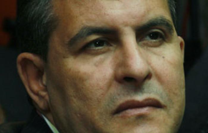 وزير الرياضة يصل إلى عزاء الشهيد محمد مبروك