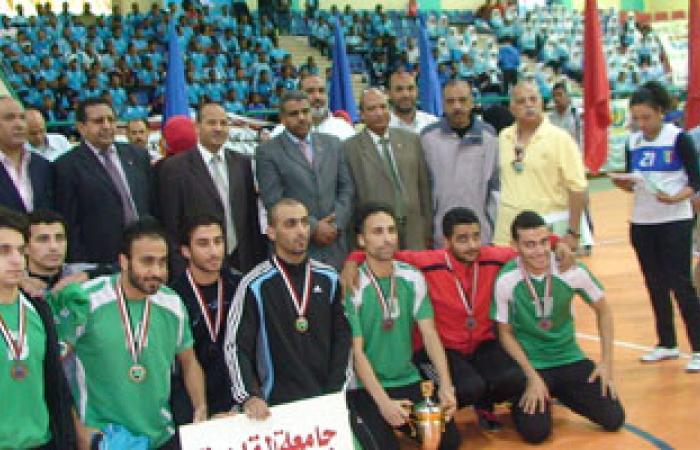 جامعة المنصورة تفوز بدرع البطولة العربية لخماسيات كرة القدم