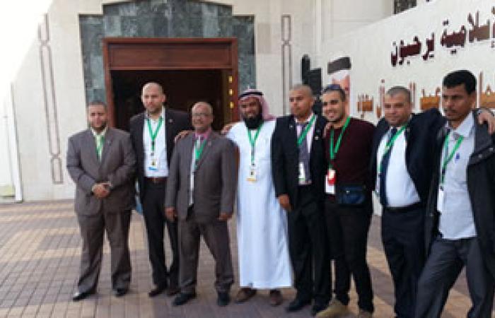 الجامعة الإسلامية بالمدينة المنورة تكرم وفد الشباب المصرى