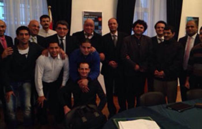 سفير مصر لدى موسكو يجتمع بشباب الجالية لتهنئتهم بالسنة الجديدة