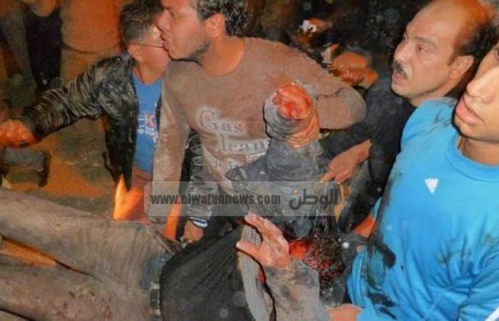مكبرات صوت تطالب أهالي المنصورة بالتبرع بالدم لضحايا تفجير مديرية الأمن