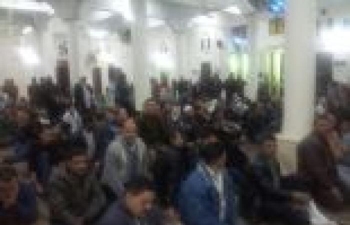 بالصور  المئات بدمياط يتوعدون الإخوان خلال تشييع جثمان أحد ضحايا تفجير المنصورة