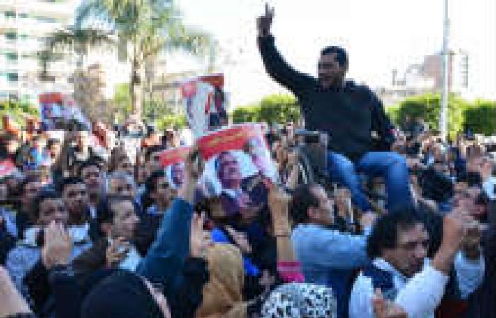 أهالي الشرقية يشيعون جثمان عقيد الشرطة شهيد «انفجار المنصورة»