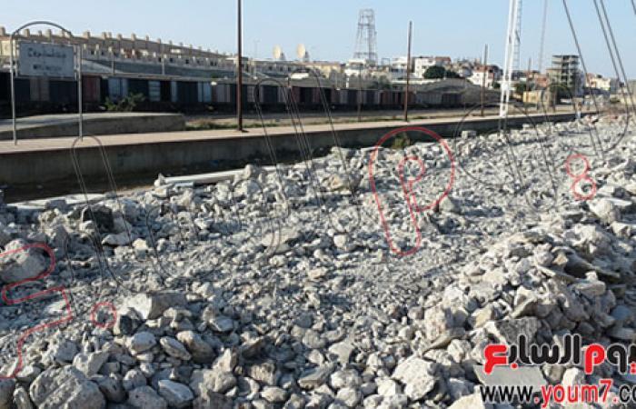 بالصور.. استئناف أعمال تطوير محطة قطار بمطروح