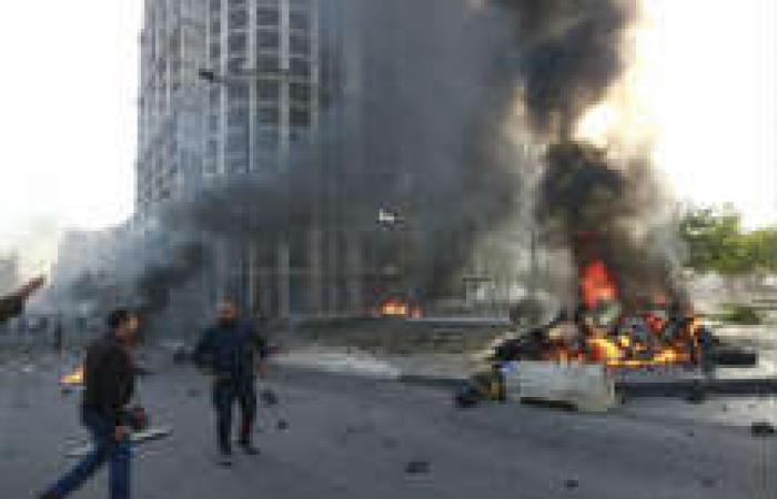 انفجار وسط بيروت تم بسيارة مسروقة ملغمة بـ60 كيلو جرام متفجرات