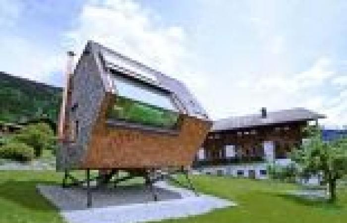 منزل بمساحة 44 متر يطبق مفاهيم العمارة الخضراء في النمسا