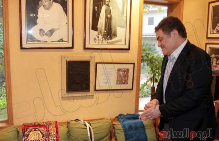 """بالصور.. """"البدوى"""" يزور متحف الزعيم الراحل أنور السادات بميت أبو الكوم"""