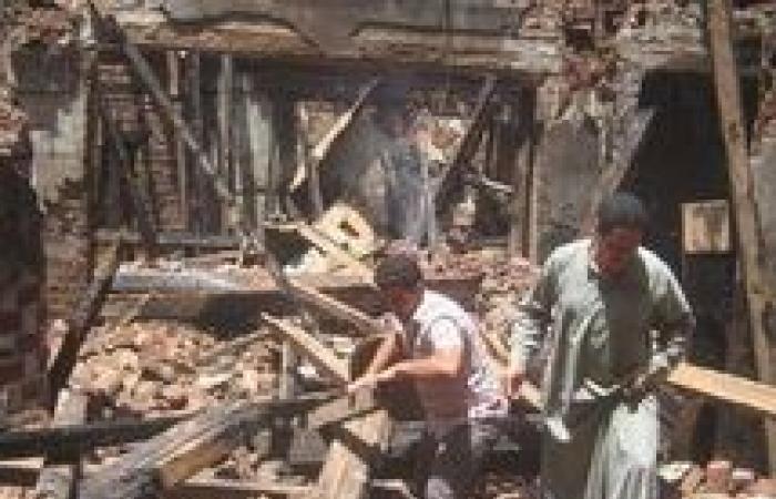 القبض علي إمام مسجد متهم بالتورط في إشعال النار بمطرانية سوهاج