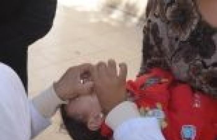 """بدء حملة التطعيم ضد """"شلل الأطفال"""" في البحر الأحمر وتستمر حتى 1يناير"""