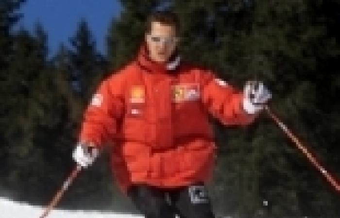 تعرض مايكل شوماخر لحادث خطير أثناء التزلج على الجليد