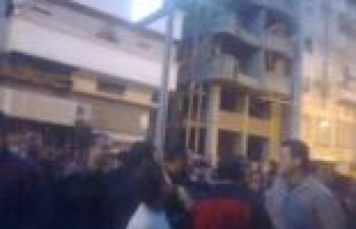 أهالي دمياط يحاصرون مستشفى ملك قيادي إخواني عقب مقتل مواطن وإصابة آخر في الاشتباكات