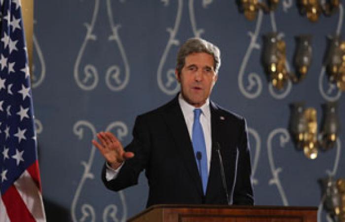 """كيرى ولافروف يدعوان إلى """"وقف إطلاق نار فى سوريا قبل مؤتمر جنيف-2"""