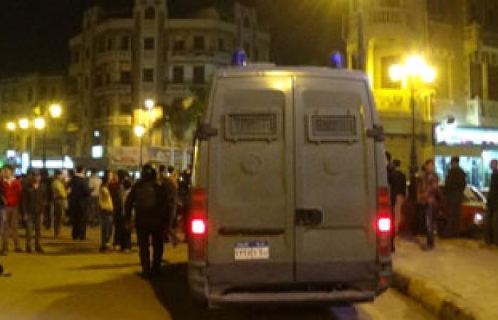 الأمن يفرق مظاهرة للإخوان بشوارع العريش