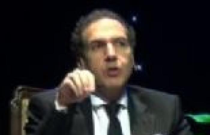 بدء مؤتمر مصطفى حجازي بفيلم تسجيلي عن الأحداث الجارية