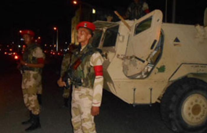 نقل مصابى الهجوم المسلح على منطقة تجنيد الزقازيق لمستشفى عسكرى
