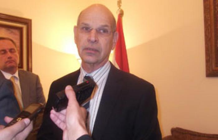 السفير الإسرائيلى يصل القاهرة بعد قضاء إجازته الأسبوعية بتل أبيب