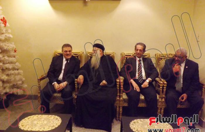 بالصور.. البدوى يلتقى الطيب ويزور كنيسة العذراء خلال زيارته للأقصر