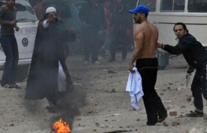 الإخوان يطلقون الخرطوش على قوات الأمن بميدان الألف مسكن