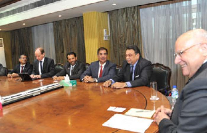 """وزير النقل يلتقى وفد """"موانئ دبى"""" لمناقشة أزمة عقد امتياز """"السخنة"""""""