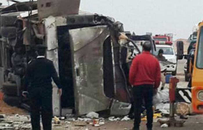 السلطات الليبية: وفاة المصريين فى طبرق نتيجة حادث تصادم مرورى