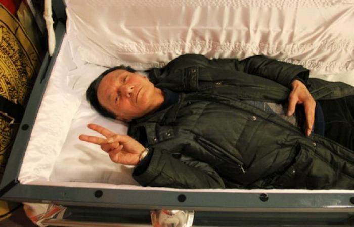بالصور.. لعبة «سمادي»: جرّب الموت حرقاً في الصين