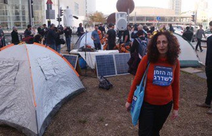 عشرات الإسرائيليين يعتصمون بتل أبيب ضد حكومة نتنياهو