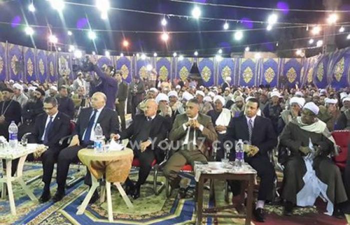 بالصور.. الآلاف يتقدمون بالعزاء لمدير أمن أسوان فى وفاة رئيس مباحث إدفو
