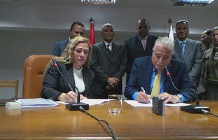 محافظ جنوب سيناء وأمين الصندوق الاجتماعى يوقعان بروتوكول تعاون