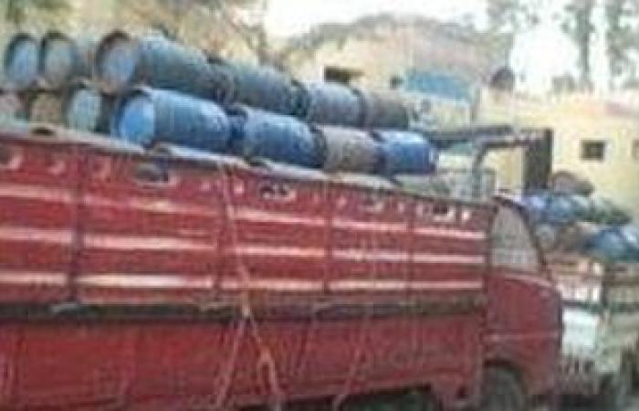 ضبط موزع غاز أثناء بيعه 46 أسطوانة بوتاجاز بالسوق السوداء بمطروح
