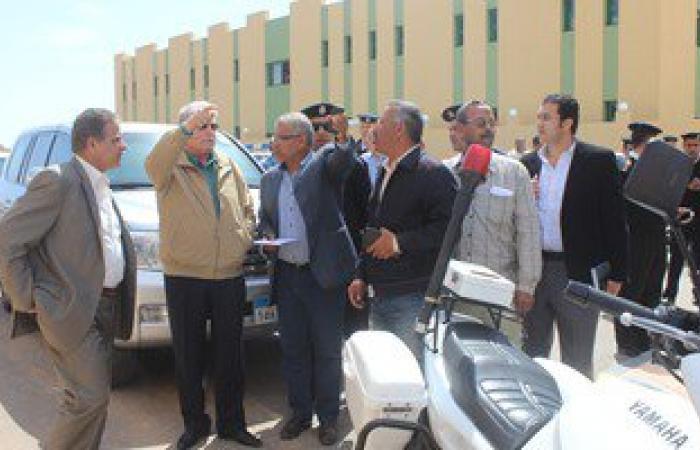 محافظ جنوب سيناء يتفقد مبنى إدارة المرور الجديد