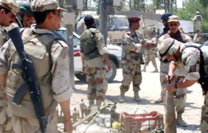 قوات التحالف تدرب جنودا عراقيين على محاربة تنظيم داعش