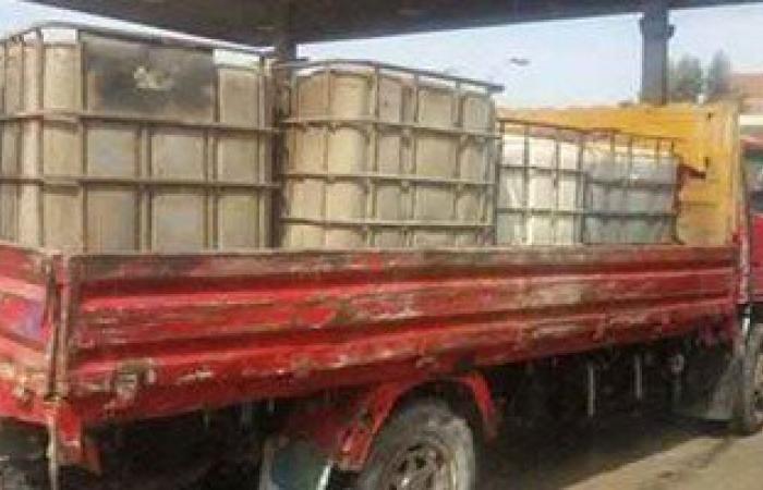 شرطة التموين تضبط 98ألف لتر وقود و2524 أسطوانة غاز و3أطنان دقيق قبل تهريبهم