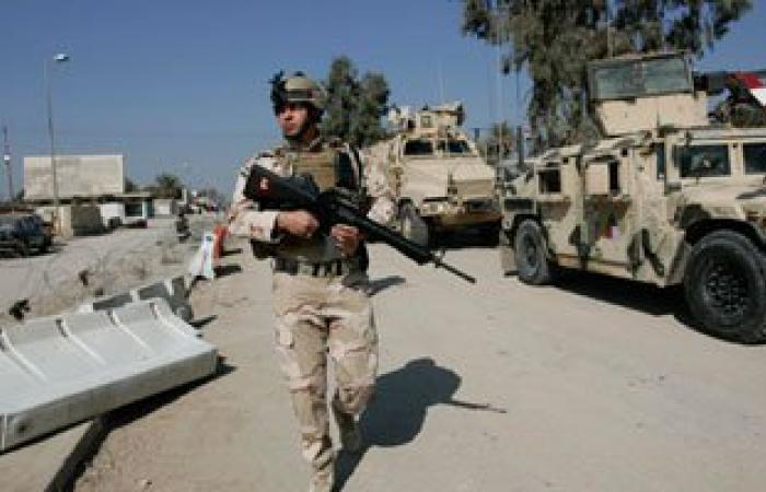 """القوات العراقية تقتل 6 من داعش بمنطقة """"البوفراج"""" شمال الرمادى"""