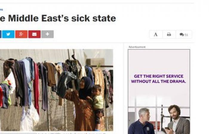 واشنطن بوست: عدم الاستقرار فى الشرق الأوسط يستمر لسنوات وربما عقود