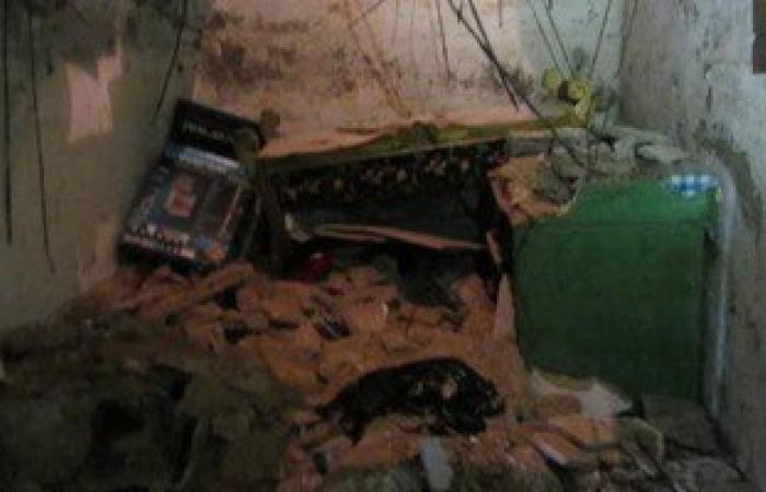 انهيار منزل فى عزبة البرج بدمياط وإصابة 4 من سكانه