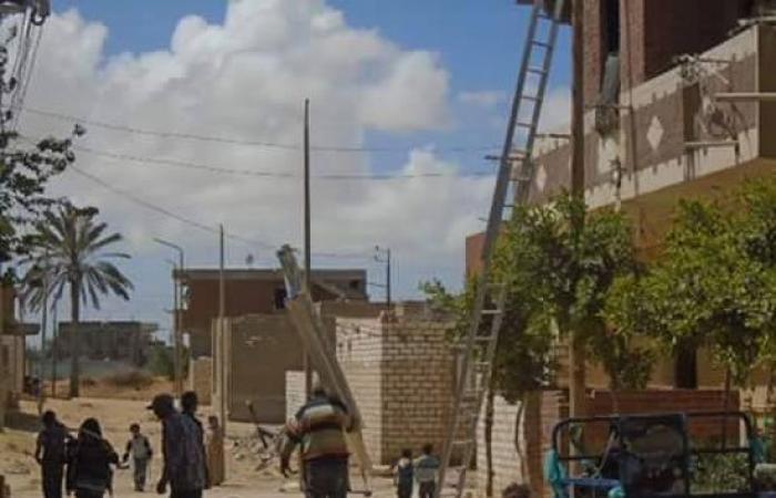 رئيس حى العامرية: شبكة كهرباء جديدة لإضاءة قرية البصرة