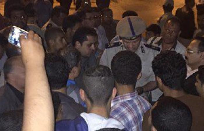 """""""أمن المنوفية"""" يقنع أهالى المختطفتين بفتح طريق مصر إسكندرية الزراعى"""