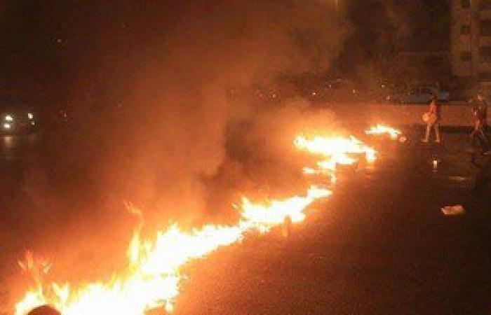 """قطع طريق """"القاهرة – إسكندرية الزراعى"""" بالمنوفية احتجاجًا على خطف طالبتين"""