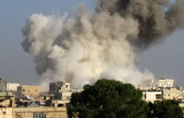 مقتل 21 شخصا فى قصف جوى لطيران النظام السورى على محافظة درعا