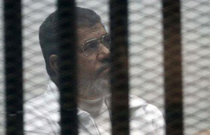 رفع محاكمة مرسى و10 آخرين فى تهمة التخابر مع قطر لإعياء أحد المتهمين