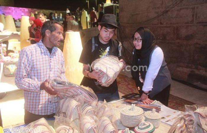 الفيوم تشارك بمعرض للصناعات اليدوية بالمهرجان الدولى للحرف التراثية