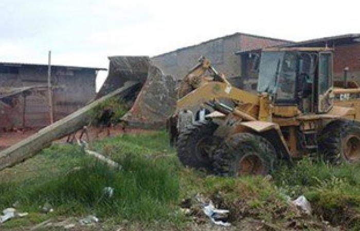 إزالة 31 حالة تعد على الأراضى الزراعية بسوهاج