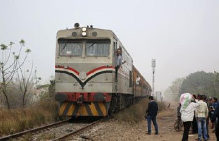 توقف حركة قطارات الصعيد بسبب حريق ورش محطة بولاق الدكرور